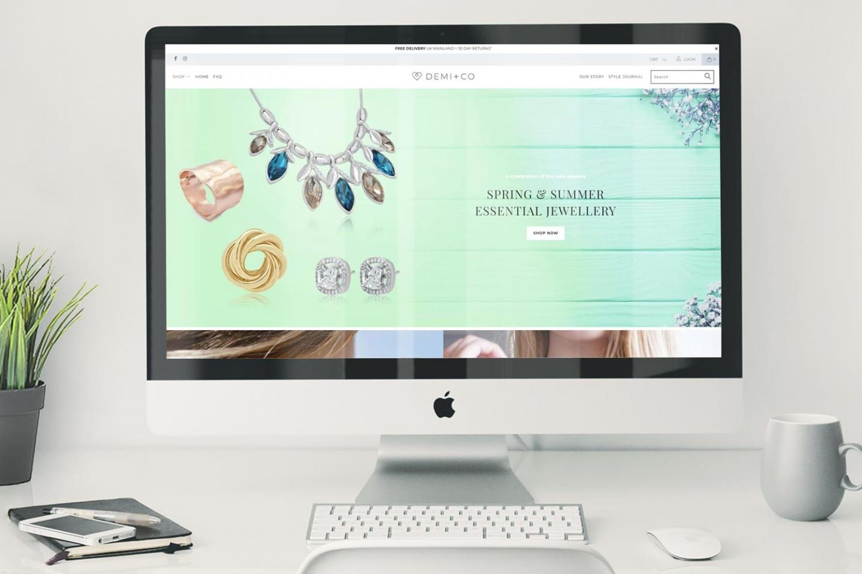 DEMI + CO Website